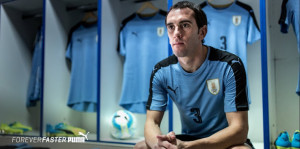 Uruguay Copa America 2016 maillot domicile Puma officiel