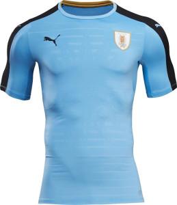 Uruguay Copa America 2016 maillot foot domicile Puma