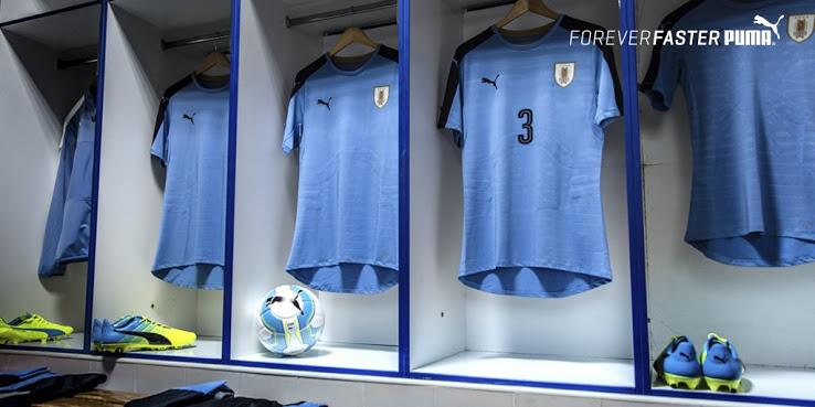 Uruguay Copa America 2016 les maillots de football