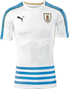 Uruguay Copa America 2016 maillot foot exterieur Puma