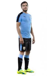Uruguay Copa America Centenario 2016 maillot domicile