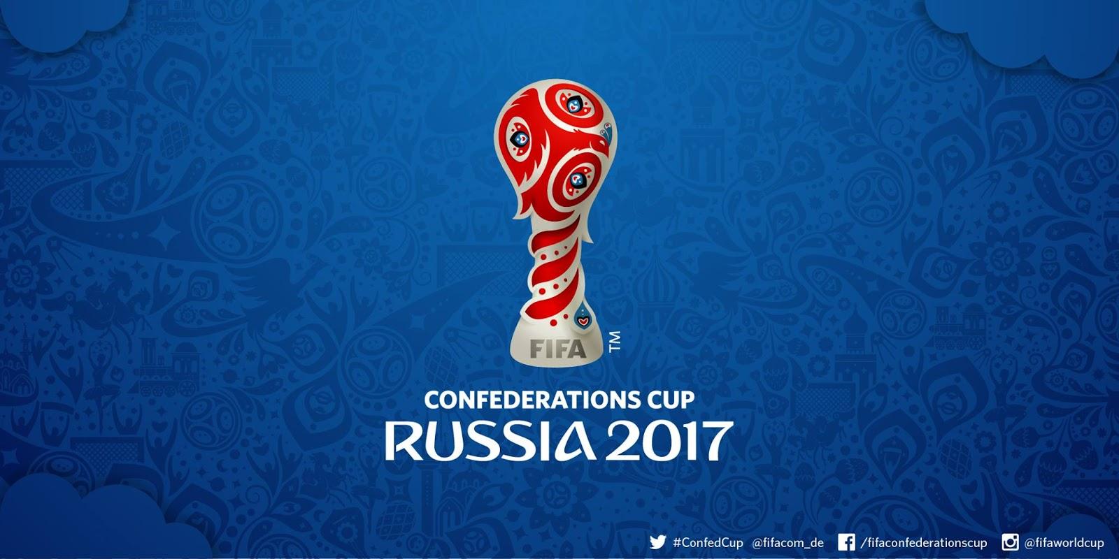 Le logo de la Coupe des Confédérations 2017 en Russie