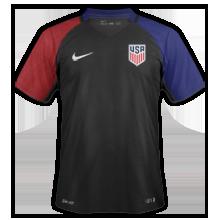 Etats-Unis Copa America 2016 maillot exterieur