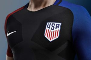 Etats-Unis Copa America Centenario 2016 maillot exterieur officiel