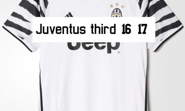 Les nouveaux maillots de football Juventus 2017