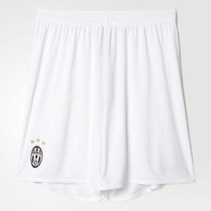 Juventus 2017 short de foot exterieur blanc