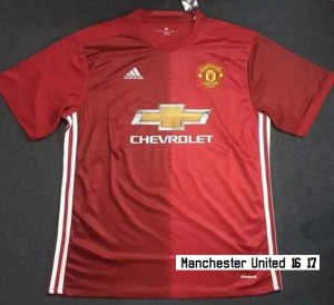 Manchester United 2017 maillot domicile 16-17