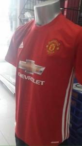Manchester United 2017 maillot domicile 16 17 dévoilé