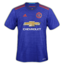Manchester United 2017 maillot exterieur 2016 2017