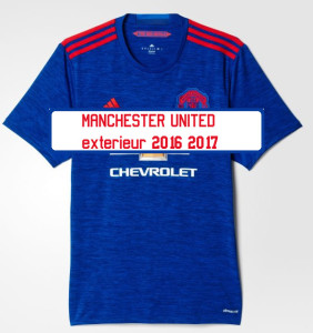 Manchester United 2017 maillot foot exterieur 2016 2017