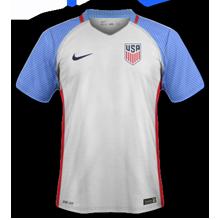 USA 2016 maillot domicile Etats-Unis Copa America Centenario