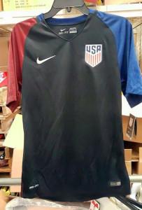 USA 2016 maillot exterieur Etats-Unis Copa America Centenario