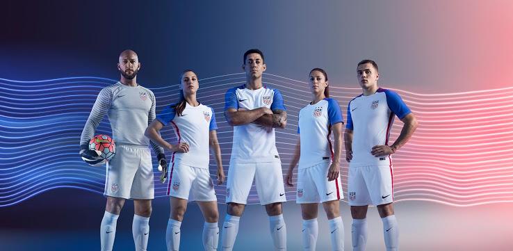 Nouveaux maillots Etats-Unis Copa America 2016 USA