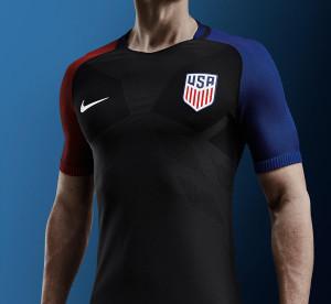 USA Copa America Centenario 2016 Etats-Unis maillot exterieur Nike officiel