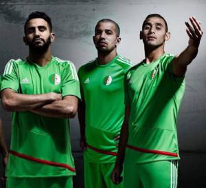 Algerie 2016 maillot exterieur foot