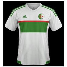 Algerie 2016 maillot foot domicile