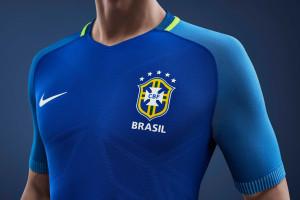 Brésil Copa America 2016 maillot foot exterieur Nike