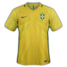 Bresil 2016 maillot Copa America Centenario 2016
