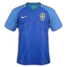 Bresil Copa America 2016 maillot exterieur foot