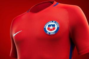 Chili 2016 Copa America Centenario maillot foot domicile