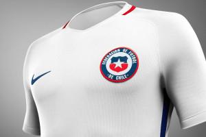 Chili 2016 Copa America Centenario maillot foot exterieur