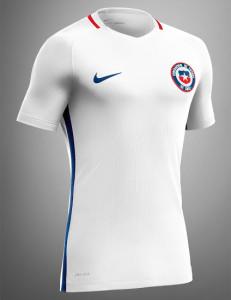 Chili Copa America 2016 centenario maillot exterieur Nike
