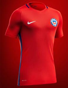 Chili Copa America 2016 centenario maillot foot officiel Nike
