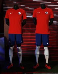 Chili Copa America 2016 maillot domicile foot Nike