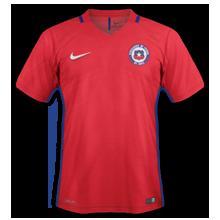 Chili Copa America 2016 maillot foot domicile