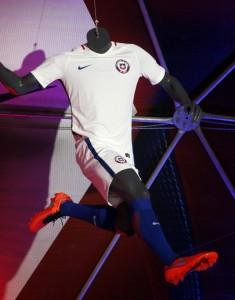Chili Copa America Centenario 2016 maillot exterieur