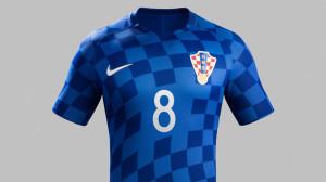 Croatie Euro 2016 maillot de foot exterieur