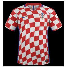Croatie Euro 2016 maillot foot domicile