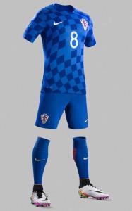 Croatie Euro 2016 maillot football exterieur