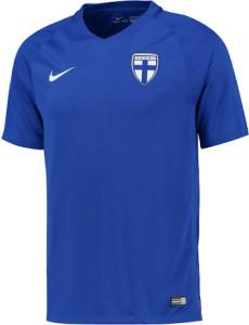 Finlande 2016 maillot exterieur football