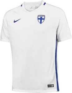 Finlande 2016 maillot foot domicile