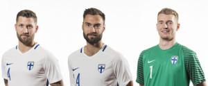 Finlande 2016 maillot foot gardien