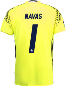 Flocage Real Madrid 2016 2017 Navas