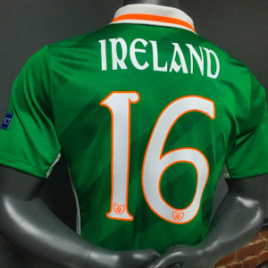 Irlande 2016 le maillot foot domicile Euro 2016 flocage
