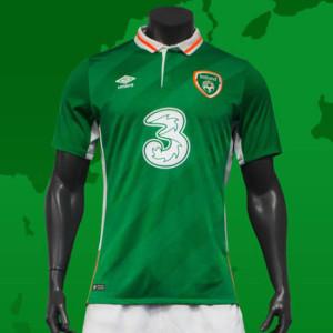 Irlande 2016 maillot domicile Euro 2016