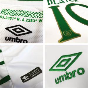 Irlande Euro 2016 aperçu maillot exterieur