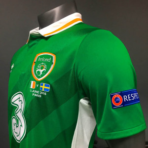 Irlande Euro 2016 maillot domcile face