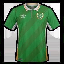 Irlande Euro 2016 maillot domcile