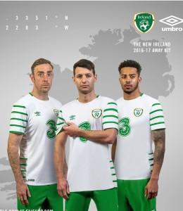 Irlande Euro 2016 maillot exterieur