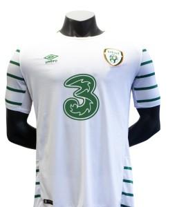 Irlande Euro 2016 maillot exterieur foot Umbro