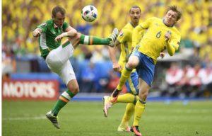 Irlande Suède Euro 2016 maillot domicile