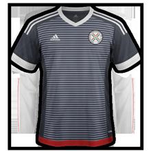Paraguay Copa America 2016 Centenario maillot football exterieur