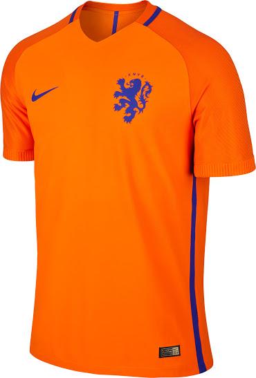 Maillot equipe de Pays Bas 2016