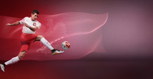Pologne Euro 2016 maillot de football domicile