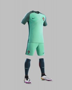 Portugal Euro 2016 maillot exterieur Nike