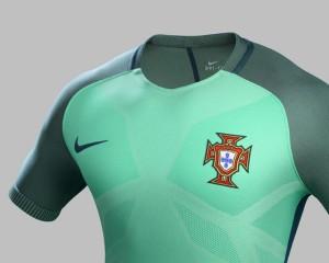 Portugal Euro 2016 maillot exterieur officiel Nike